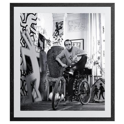 Janette Beckman Art Print - Keith Haring, New York 1985 - 10x12 Inch Aluminum Edition