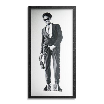 Janette Beckman Art Print - Slick Rick Manhattan 1989