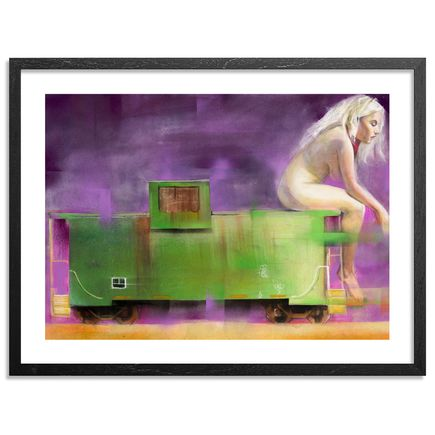 Jarus Art Print - Caboose - Limited Edition Prints