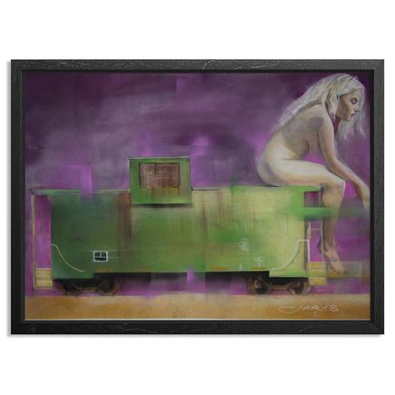 Jarus Original Art - Caboose - Original Artwork