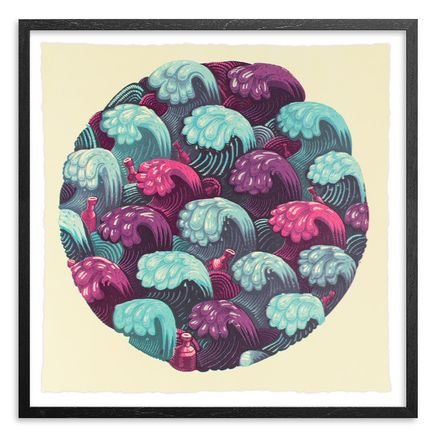 Jason Botkin Art Print - Waves - Cotton Candy Edition