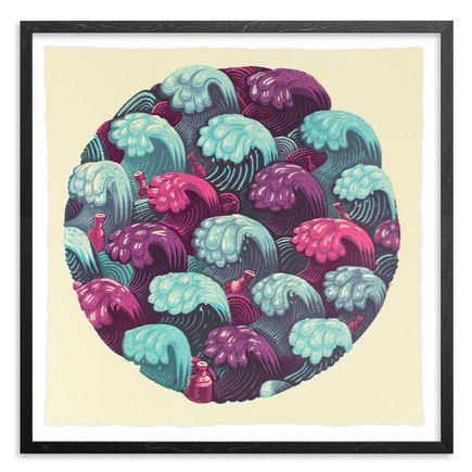 Jason Botkin Art Print - Waves - Cotton Candy Edition