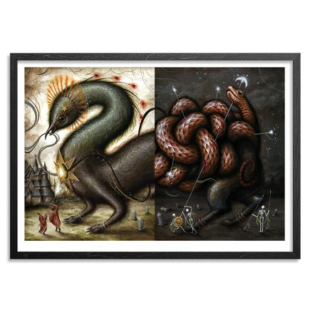 Jason Limon Art Print - Dualism - Radiance - Limited Edition Prints