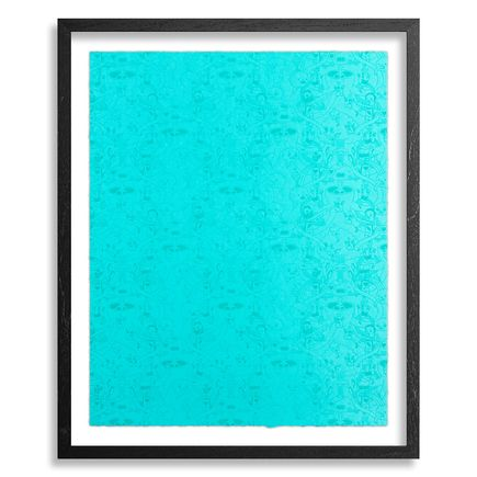 Jasper Wong Art Print - Mystery Meat - Blue Raspberry Edition