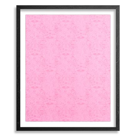 Jasper Wong Art Print -  Mystery Meat - Cotton Candy Edition