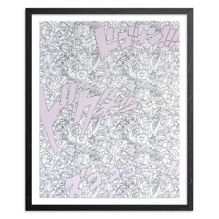 Jasper Wong Art Print - Super Spirit Bomb - Lavender Edition