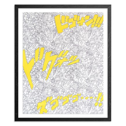 Jasper Wong Art Print - Super Spirit Bomb - Yellow Edition