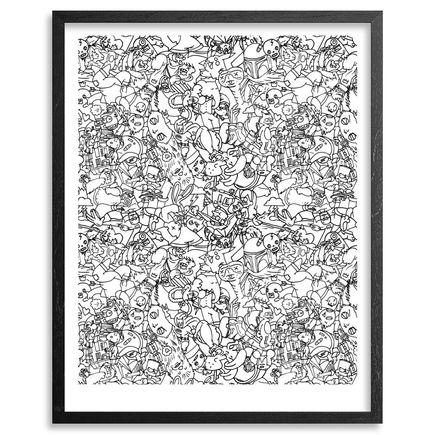 Jasper Wong Art Print - Saturday Morning - Hand-Embellished Edition