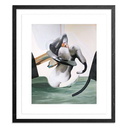 Jaybo Monk Art Print - Where Does The River Sleep?