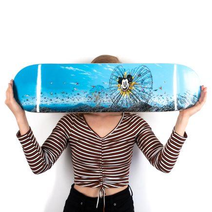 Jeff Gillette Art Print - Dismayland - Skate Deck Variant