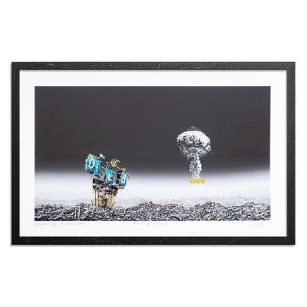 Jeff Gillette Art Print - Atom Bomb - BOOM!