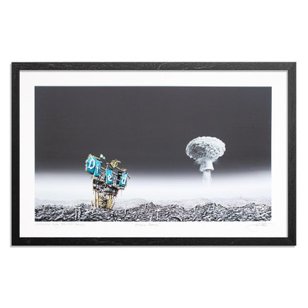 Jeff Gillette Art Print - Atomic Bomb