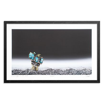 Jeff Gillette Art Print - Blank