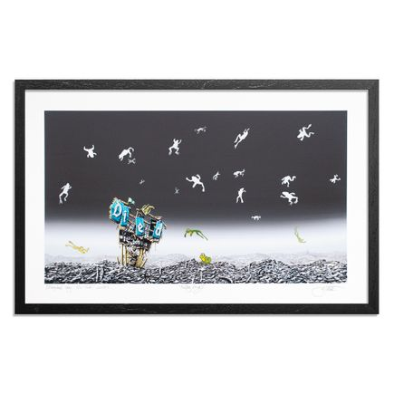 Jeff Gillette Art Print - Falling Frogs