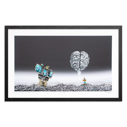 Jeff Gillette Art Print - Goofy Brain