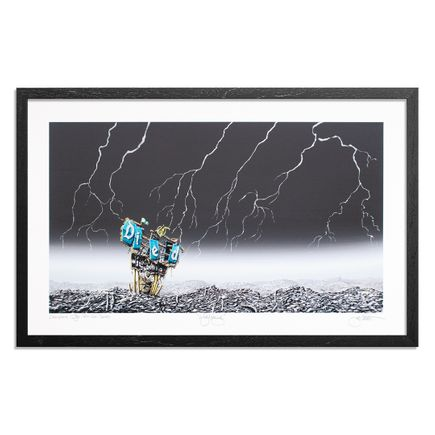 Jeff Gillette Art Print - Lightening