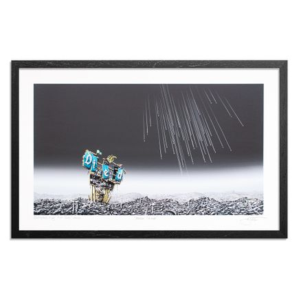 Jeff Gillette Art Print - Meteor Shower