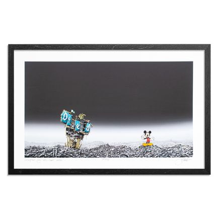 Jeff Gillette Art Print - Mickey