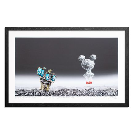 Jeff Gillette Art Print - Mickey Atom Bomb - BLAM!
