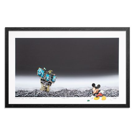 Jeff Gillette Art Print - Mickey Dollar