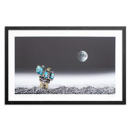 Jeff Gillette Art Print - Moon