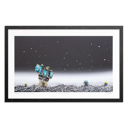 Jeff Gillette Art Print - Stars and Aliens