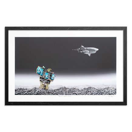 Jeff Gillette Art Print - Wall-E Space Ship