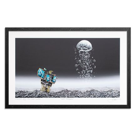 Jeff Gillette Art Print - Water Bubbles