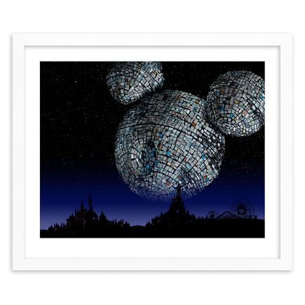Jeff Gillette Art Print - Mickey Death Star