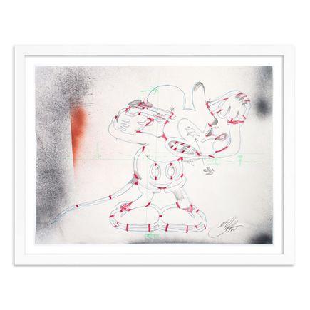 Jeff Gillette Original Art - Mickey Suicide - Process 02 - Framed Original Study