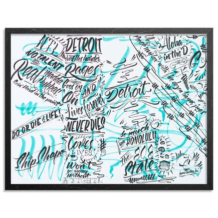 Jeff Gress Original Art - Drink And Doodle 09