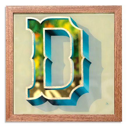 Jeff Gress Original Art - Gold In The D - II