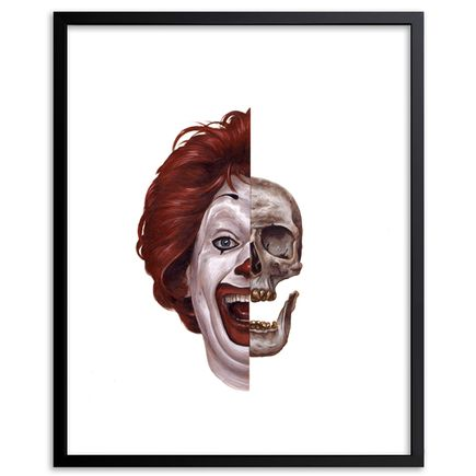 Jeff McMillan Art Print - Ronald