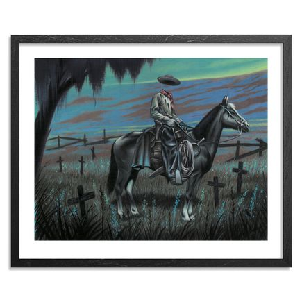 Jeff McMillan Art Print - Virginia City Outlaw, Permanent Resident