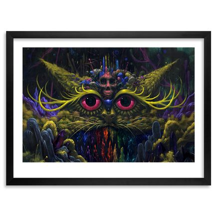 Jeff Soto Art Print - Cat Goddess