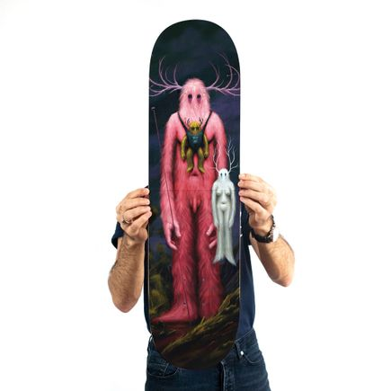 Jeff Soto Art Print - Giants - Skate Deck Variant