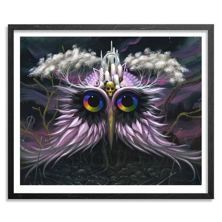 Jeff Soto Art Print - Owl Of Infinite Knowledge