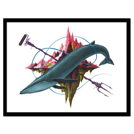 Jeff Soto Art - The Blue Whale - Artist Proof