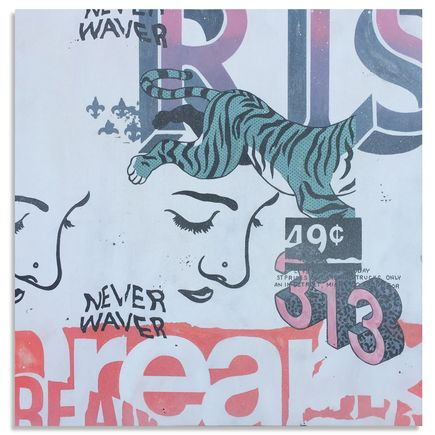Jeremiah Britton Original Art - Never Waver