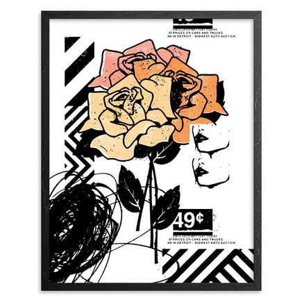 Jeremiah Britton Art Print - Three Roses At The Auto Auction - Limited Edition Prints