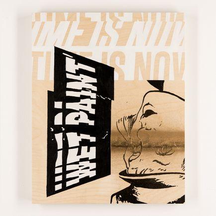 Jeremiah Britton Original Art - Wet Paint 001