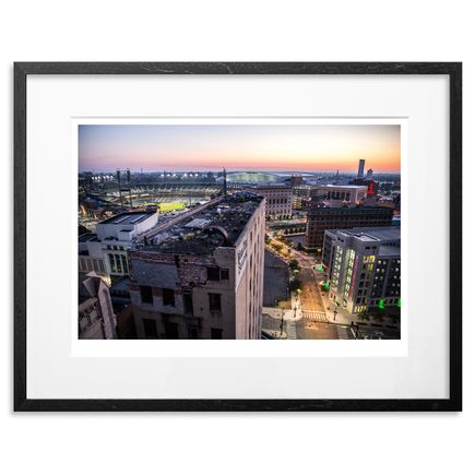 Jeremy Deputat Art Print - Detroit 5:46 AM - 24 x 18 - Number 8-14