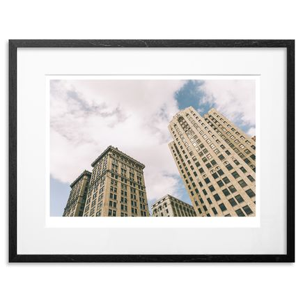 Jeremy Deputat Art Print - Detroit - Twin Towers - 24 x 18 - Number 8-14