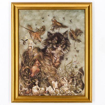 Jeremy Hush Original Art - The Mischievous & The Wayward