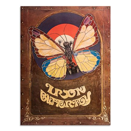 Jerry E. Clarke Art Print - Iron Butterfly - 1969