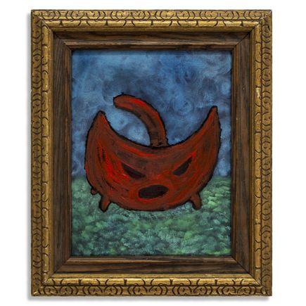 Jerry Vile Original Art - Kitten Of Unreasonable Anger