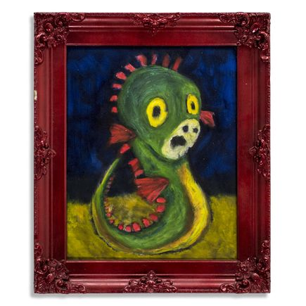 Jerry Vile Original Art - Forlorn