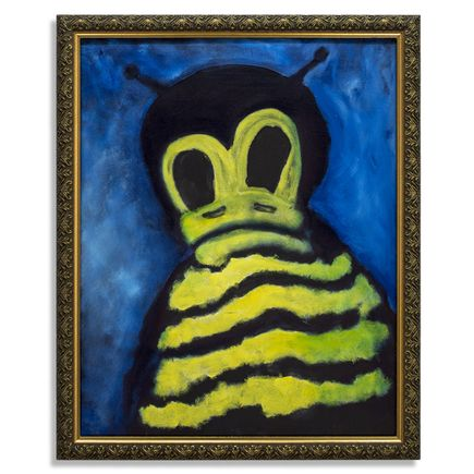 Jerry Vile Original Art - That Terrible Thing About The Bees