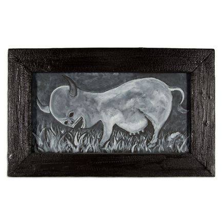 Jerry Vile Original Art - Bovine