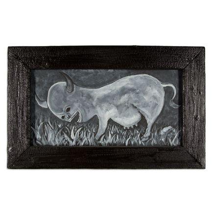 Jerry Vile Original Art - Bovine